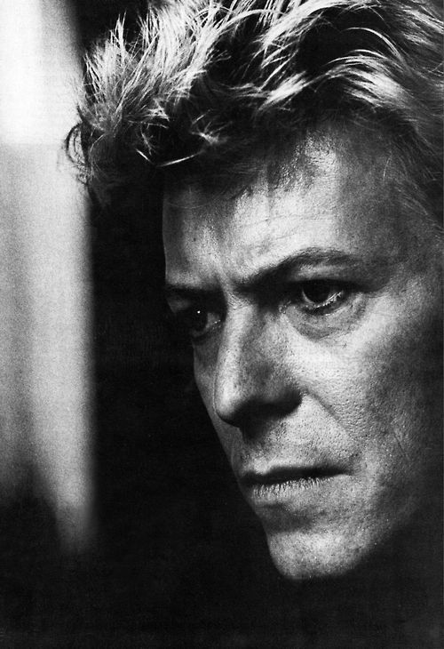 David Bowie | by Anton Corbijn. January 8 - January 10, 2016. Another star gone to light up the night sky. RIP.