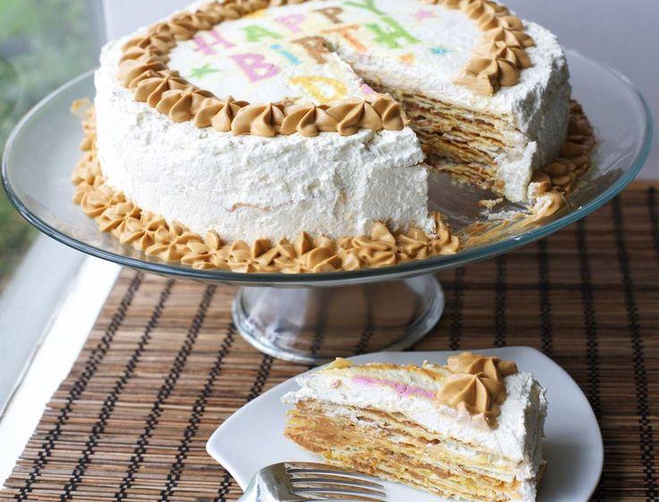 Torta pompadour platano