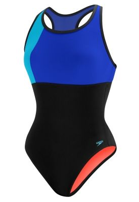 Color Block Thick Strap - Speedo Endurance Lite - Fitness - Speedo USA Swimwear