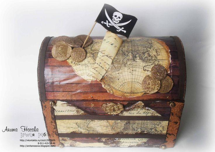 Открытка пиратская своими руками