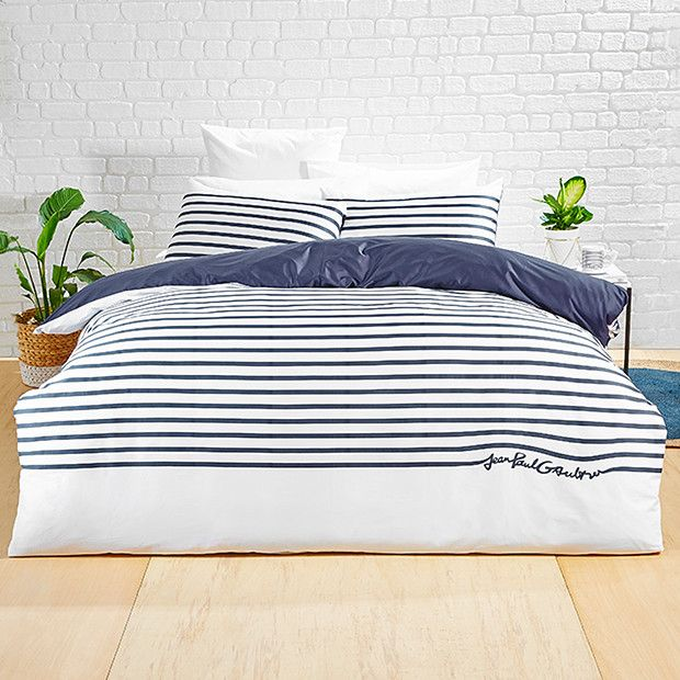 Jean Paul Gaultier for Target Queen Size Quilt Cover Set - Stripe