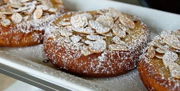 Almond apple pie from Belgium