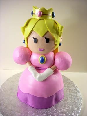 Princess Peach Cake Cakes Pinterest Princesses The