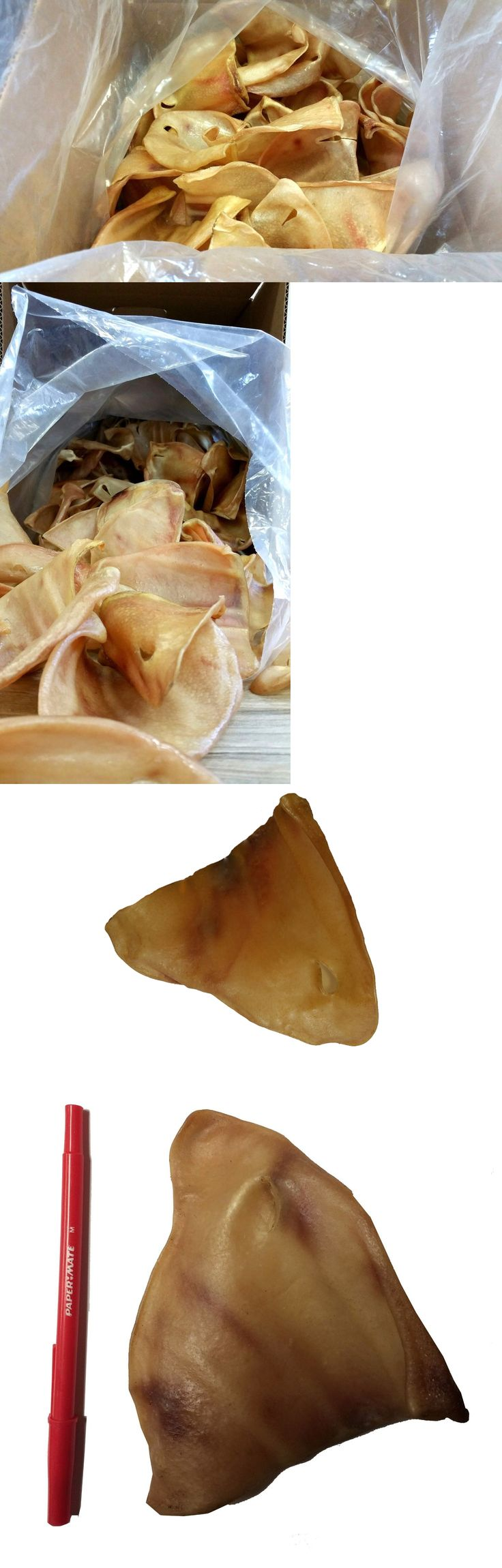 Dog Chews and Treats 77664: Pig Ears For Dogs 100 Ct |Full Large Pig Ears | Bulk Dog Treats From 123Treats BUY IT NOW ONLY: $101.99