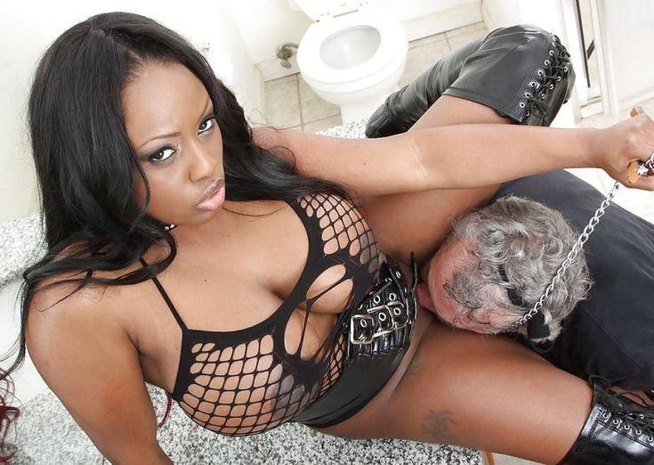 ebony dominatrix