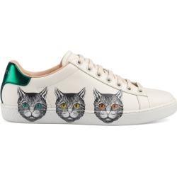 Ace Damensneaker mit Mystic Cat-Print Gucci