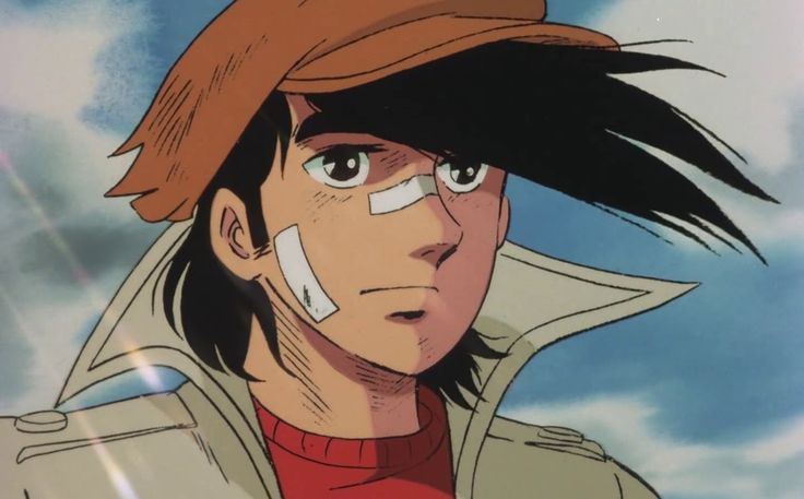 Yabuki Joe from Ashita no Joe 2 (1980).