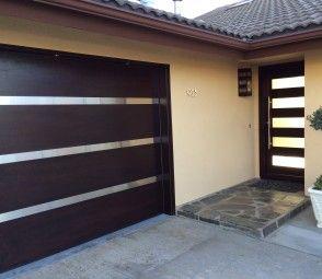 modern garage door25 best Garage and landscape images on Pinterest  Modern garage