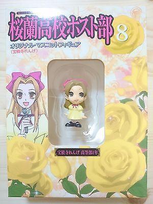 Japan Anime Ouran high school host club RENGE original mini Mascot figure