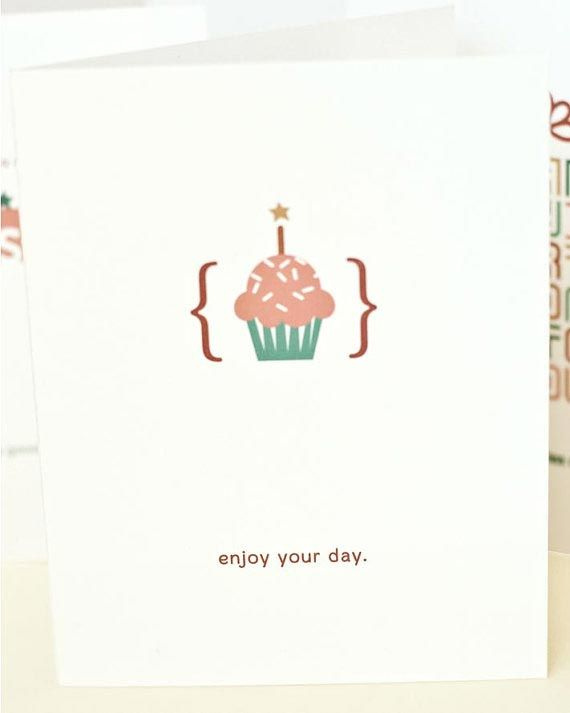 Birthday Cards (on the back)