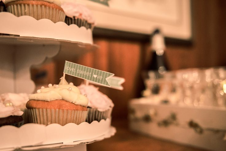 Found these great printable dessert tags on Elli.com - used them for the cupcakes at our wedding. Simple & Beautiful.