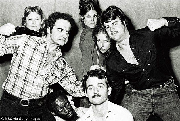 I can't believe what great shape John Belushi is in here on Saturday Night Live