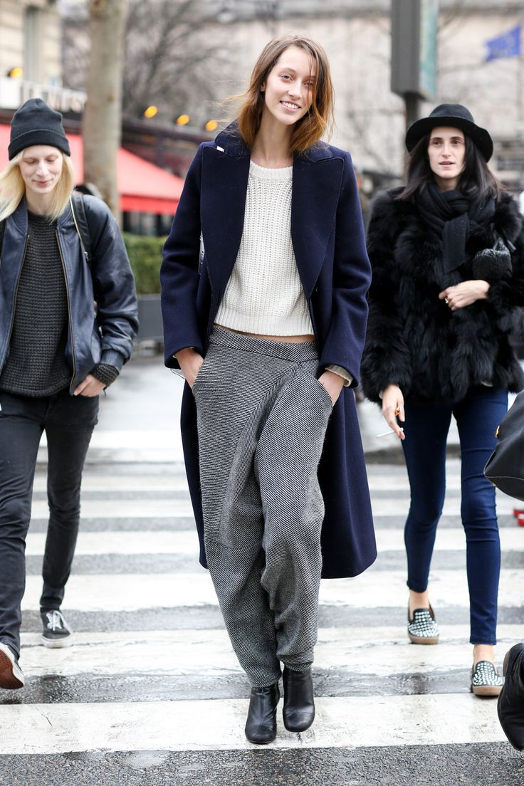 スェットっぽいようなパンツ。 - 海外のストリートスナップ・ファッションスナップ