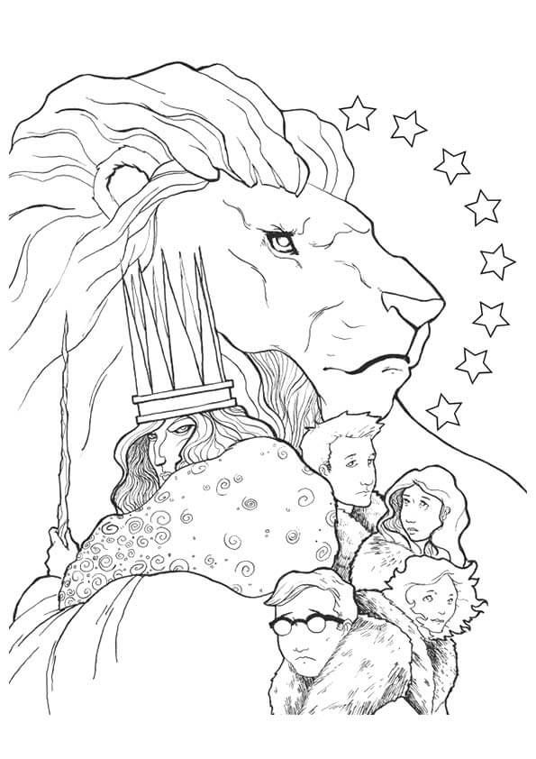 Pin By Amy Foster On Narnia Coloring Pages Lion Coloring Pages Narnia