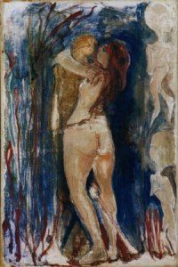 Edward Munch, Death and the Maiden