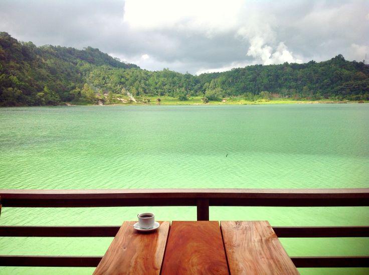 Linow Lake, North Sulawesi, Indonesia