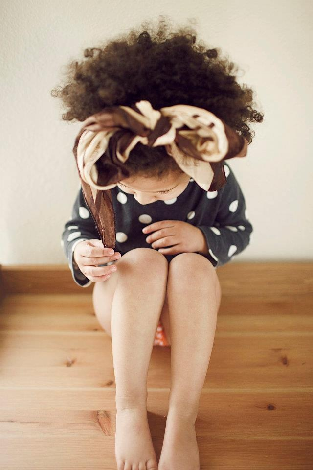 Her hair is everything!: Future Daughter