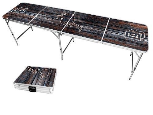 Dalton State College Roadrunners Weathered Folding Table