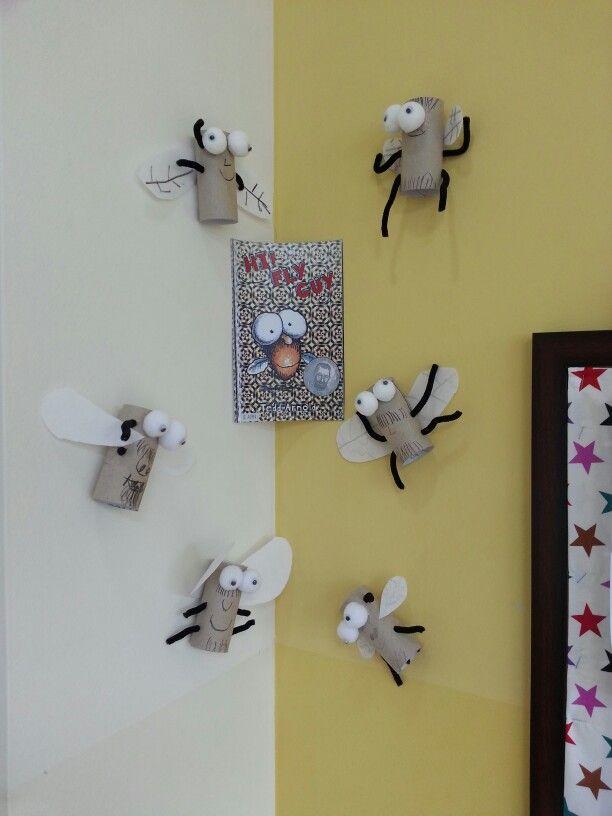 Fly Guy activity. Kids really enjoyed making these.
