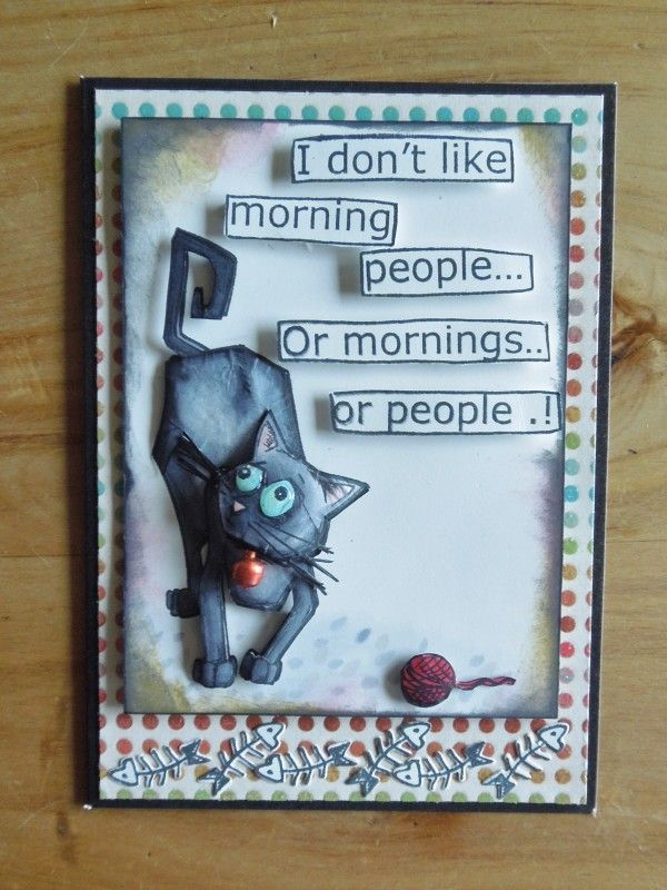 Grumpy Cat by charlie horse - Cards and Paper Crafts at Splitcoaststampers