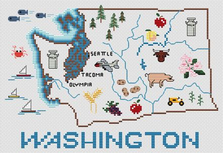 WA Love this idea to do for each state the kids were born in!