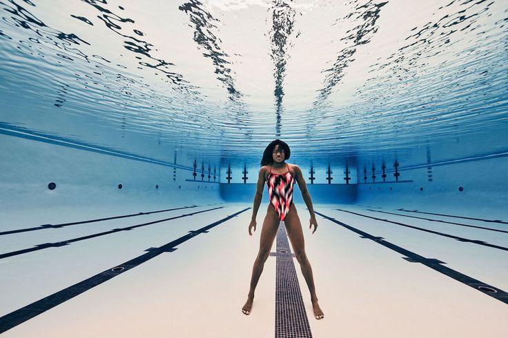 Simone Manuel by Steven Lippman. #stevenlippman #photography #swimmer #underwater