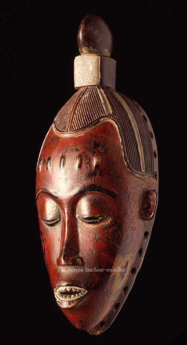 Masques africains - Les Musées Barbier-Mueller - Guro Côte d'Ivoire