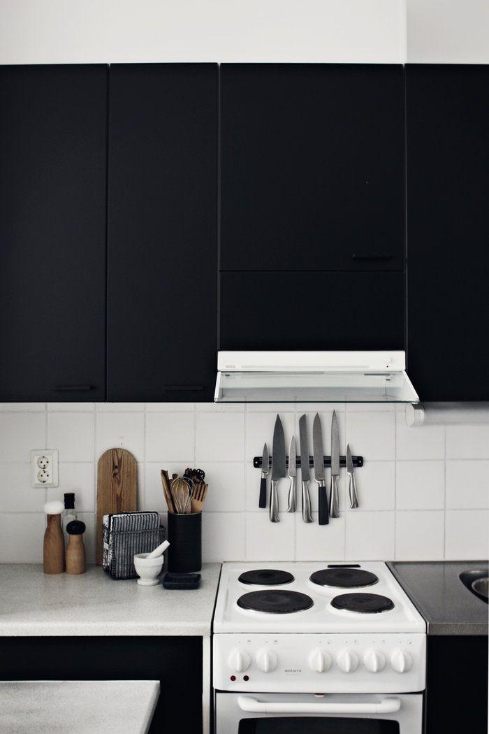 black kitchen: Kitchens, Dining Room, Interior, Idea, Inspiration, Kitchen, Blog, Design
