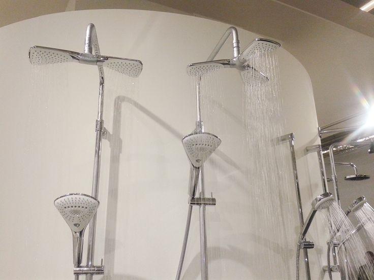 Panel s hlavovou i ruční sprchou. Kludi. www.homeincube.cz