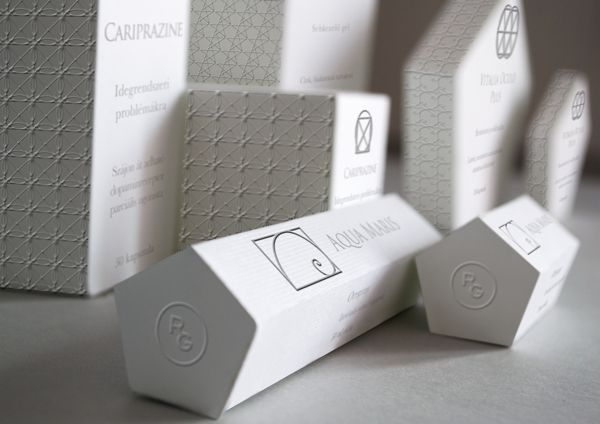 Medicine Package Design by Szani Mészáros, via Behance