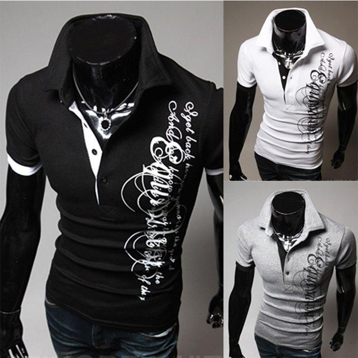 Men's Printed Short-Sleeve T Shirt