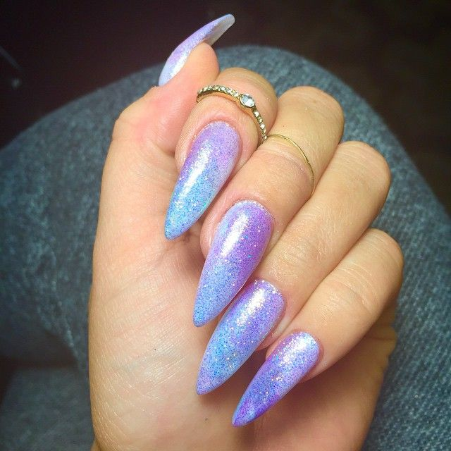 I have changed my nails 4 times this week. My love for iridescence is real!