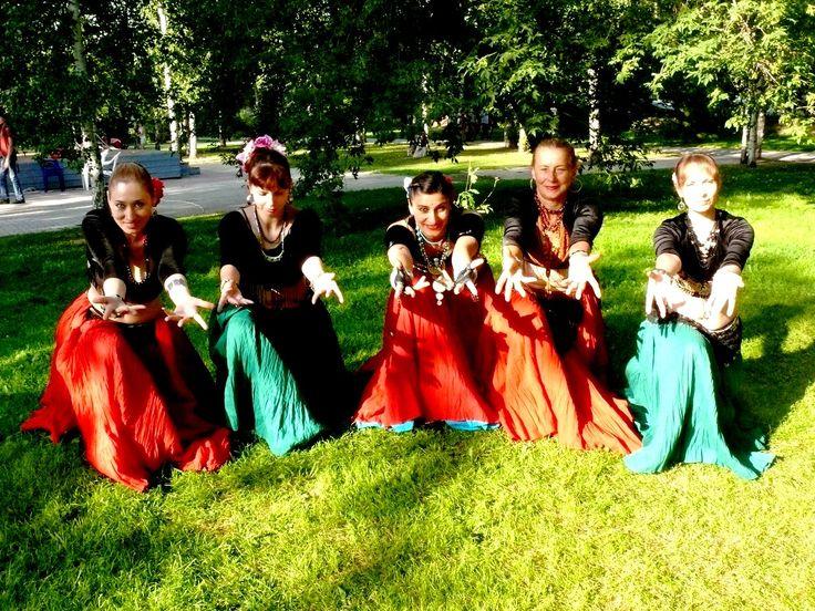 Трайбл-бэнд Раади/ Tribal band Raady. Фестиваль Амани-фест.Томск-2014.