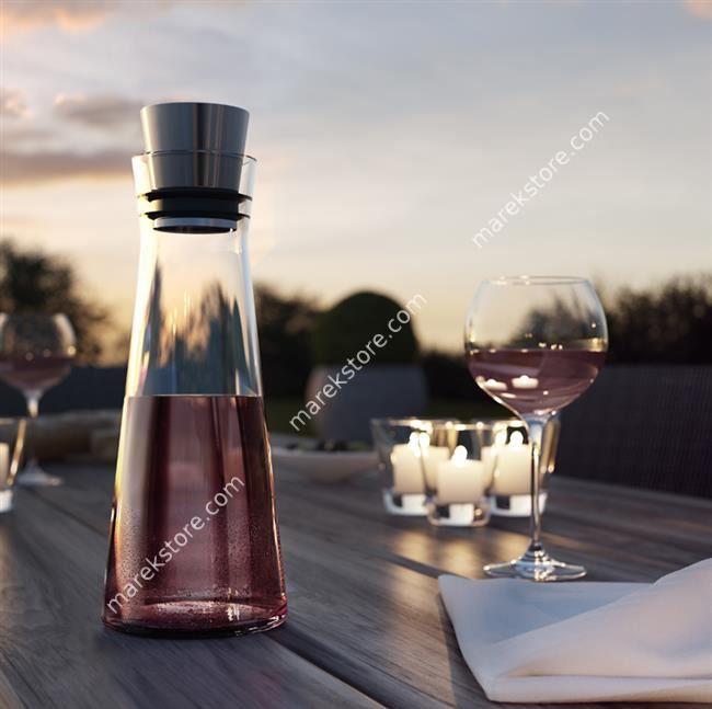 Karafka do wina szklana - pojemność 1 litr | EMSA | 199,00 zł