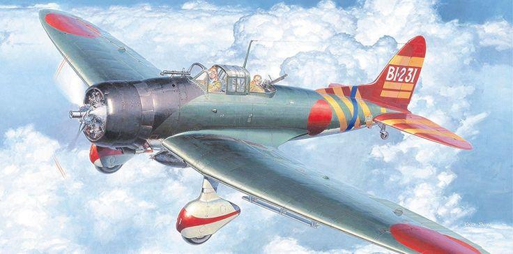 "retrowar: ""  Aichi D3A1 Type 99 """