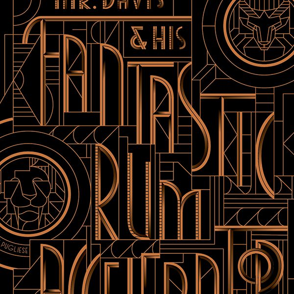 Fantastic Rum Accelerator Lettering, Wired Magazine on Behance