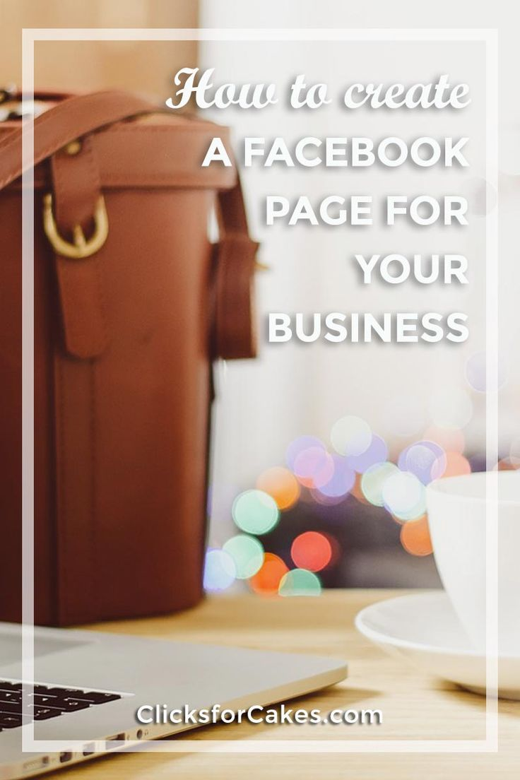 How To Create A Facebook Page For Your Home Bakery Business This mini-course is for home bakers that don't have a business Facebook Page, have a partial set up Facebook Page, and for those that already have a working Facebook Page but want to improve and enhance the use of Facebook as a marketing tool for expanding their brand. Click here to find out how.