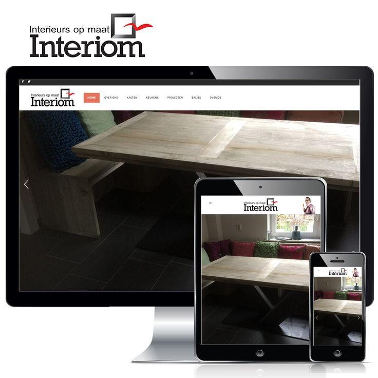 www.interiom.nl - Interiom ziet het als een uitdaging om meubels of inrichting te maken. Meubels die voor uiteenlopende toepassingen, niet alleen voldoen aan de praktische verwachtingen, maar tevens iets extra's bieden. Tientallen voorbeelden zijn te zien op de fraaie nieuwe website, uiteraard opgebouwd in en te beheren met WordPress.  Volg ons ook op: Websites en domeinnamen -  www.websitesendomeinnamen.nl/