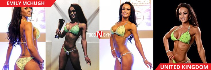 The super fit and amazing with Emily McHugh #fitnessmodel #fitness #bikini #healthy #girl