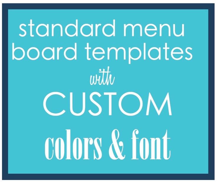 7 best menu templates images on Pinterest Menu templates - cocktail menu template free download
