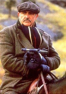 """Sean Connery as Jim Malone in """"The Untouchables"""". One of my heroes."""