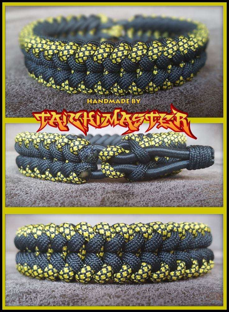 Two Colored Sanctified elastic - Paracord Bracelet This paracord bracelet is made with a elastic cord inside. You can stretch it a little bit, to put it on your wrist.