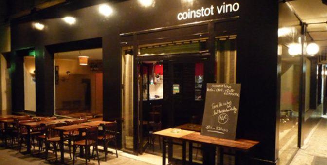 Restaurant Coinstot Vino à Paris