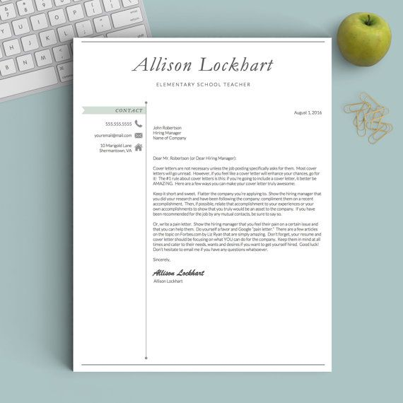 Best 25+ Teacher resume template ideas on Pinterest Resumes for - microsoft word resume template for mac