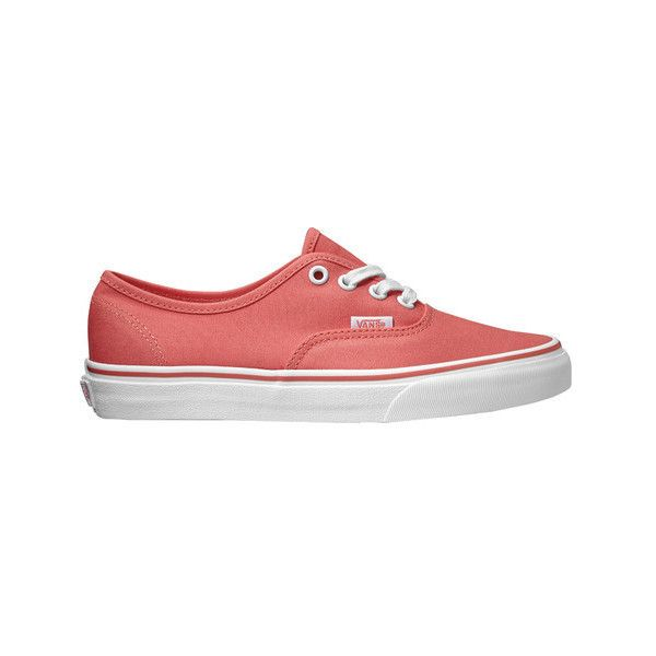 Vans Authentic Sneaker (£39) ❤ liked on Polyvore featuring shoes, sneakers, casual footwear, casual shoes, canvas sneakers, canvas lace up sneakers, black canvas sneakers, black leather oxfords and vans sneakers