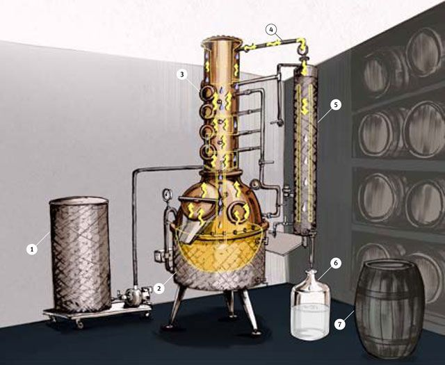 How Distilling Works  - PopularMechanics.com