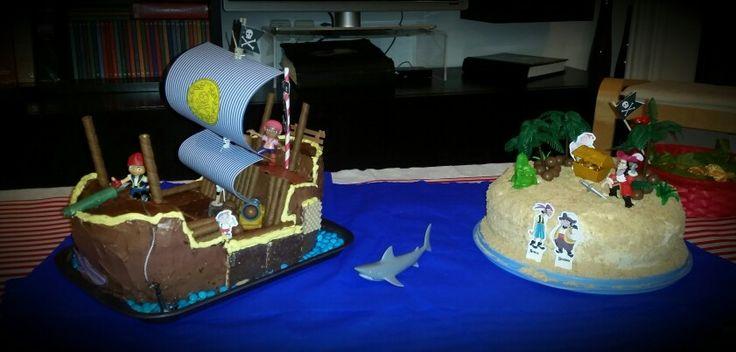 Jake and the neverland pirates Ranias cake