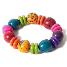 Un bracelet coloré, pas forcément aussi gros...
