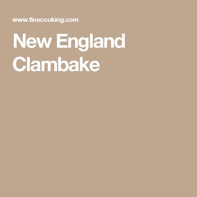 New England Clambake