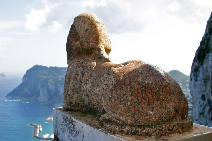 View from Villa San Michele, Anacapri, Isola di Capri, Campania, Italy www.italyunfettered.com